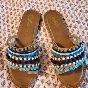 Woman's boho sandals